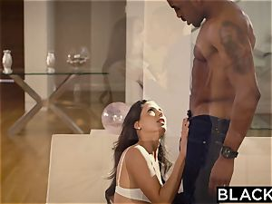 BLACKED first multiracial For Spanish honey Alexa Tomas