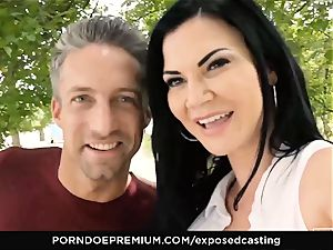unsheathed audition Jasmine Jae nailed in steamy audition