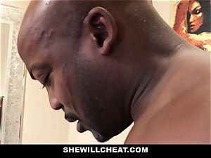 SheWillCheat - hotwife wifey fucks bbc in douche