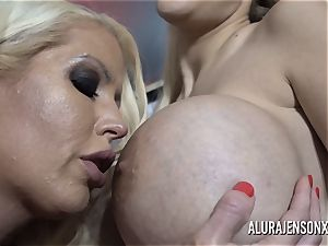 Alura and her chesty girly-girl friend Dolly get insane