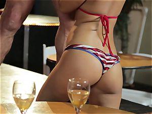 Asa Akira and Bridgette B give a sensational demonstrate