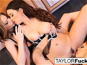 Jayden, Taylor, and Emily have some joy