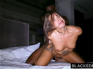 BLACKEDRAW youthfull wife is now addicted to black bulls