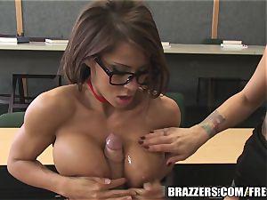 Brazzers - Madison in torrid school 3some