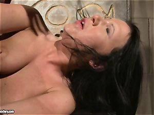 Katy Borman enjoy forcing a hot stunner to gargle the fuck stick