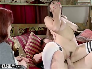 enormous melon college Latina nubile fucks elderly boy StepMom Cheer