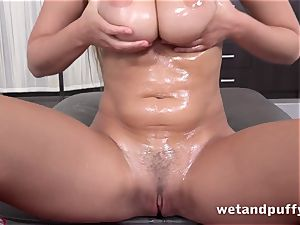 large OILY globes - Lucy Li