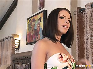 Kendra zeal and Adriana Chechik share a thick manhood