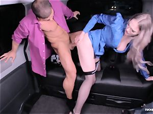 plowed IN TRAFFIC - molten car fuckfest with brit Carly Rae