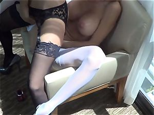 Trinity St. Clair Gives a super hot Lap Dance