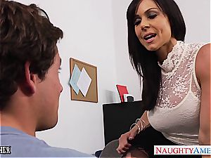Office mummy Kendra passion gets penetrated on the desk