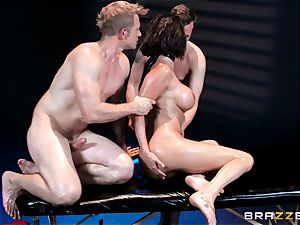 man sausage super-naughty Peta Jensen gets shafted from both completes
