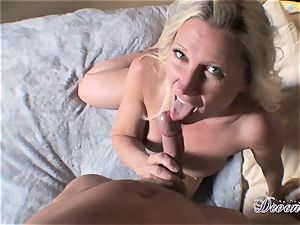 Devon Lee is lovinТ her man's lash wedged in her tastey throat