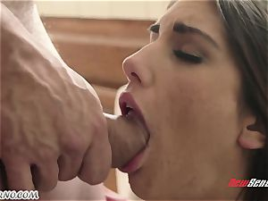 boy bangs the wifey of his junior brother August Ames
