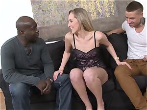 hotwife instructing bi-racial assfuck orgy For whorey wifey