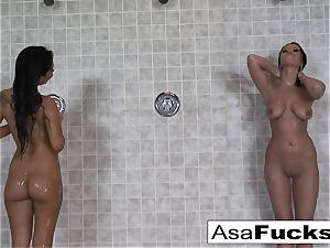 Asa has some girl/girl joy with Devi