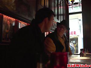 dominant dutch call girl abasing tourist