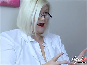 AgedLovE Lacey Starr huge-titted towheaded Mature hard-core