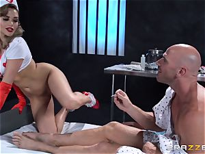 wish nurse Mia Malkova gets her patient through his operation
