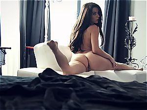 youthfull pornstar Lana Rhoades is incredible