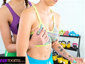 sport rooms Stacy Cruz Emylia Argan and Dominic Anna