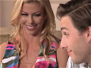 Neighbors wife pt3 fantastic mummy Alexis Fawx messing with dangled teenage