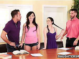 jiggish daughters-in-law have something more exciting than tutoring in mind