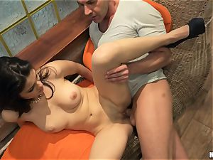 Suzy Bell and Niky Gold poolside fourway