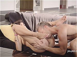 Romantic morning orgy with fabulous Penelope