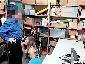 mommy Christy enjoy takes place for mischievous shoplyfter