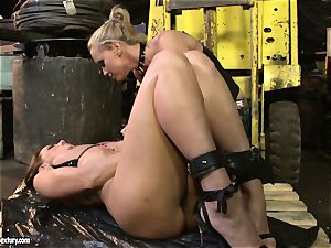 Andy brown and Kathia Nobili caboose dildoing rigid