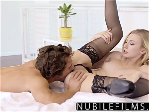 NubileFilms - kinky blondie Alexa grace strenuous bang-out