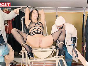 LETSDOEIT - Amirah Is manhandled at her very first bdsm party