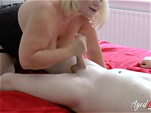 AgedLovE xxx hump with Mature Lacey Starr