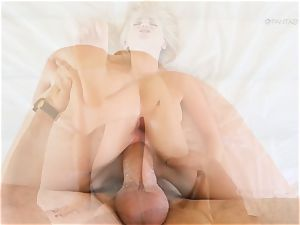 mischievous ash-blonde Staci Carr screwed in that sugary-sweet ash-blonde beaver pudding