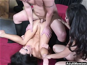 lucky fellow 3 way with chinese dominas