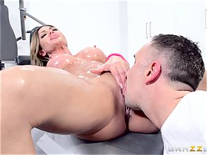 penetrating the well-lubed fuckbox of Nina Dolci