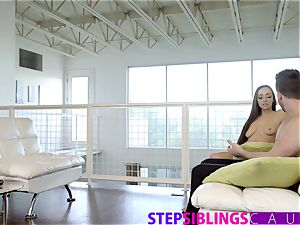 StepSiblingsCaught - coaxing Her Step-bro With rump
