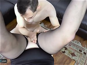 AgedLovE Lacey Starr plumbing Poolboy hardcore
