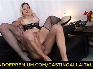 audition ALLA ITALIANA - chesty Italian blondie donk pulverized