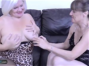 AgedLove mature Lacey star hard-core action