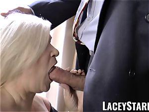 LACEYSTARR - naughtiest grandma analled before pop-shot