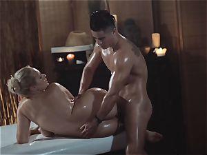 massage rooms fabulous cougar with gigantic innate baps