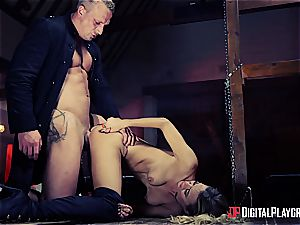 exciting Natalia Starr is saving the universe with buttfuck