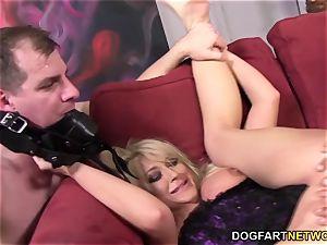 hotwife tramp Leya Falcon takes ass fucking smashing