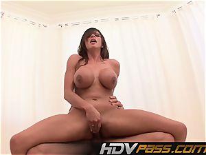 HDVPass busty honey Ariella Ferrera Gets Down