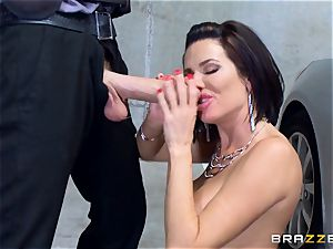 naughty mature Veronica Avluv arched over and pounded
