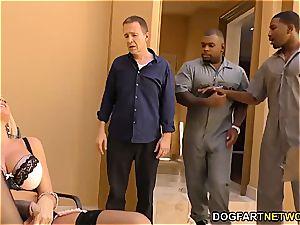 Alena Croft cheats on her spouse with ebony folks