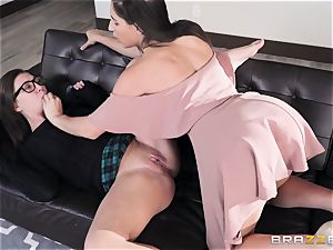 all girl licking sorority with Abella Danger and Jojo kiss
