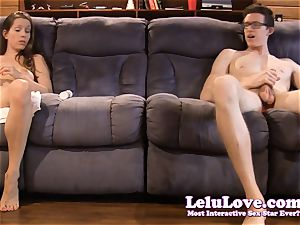 Twin Lelu's secretly suck and bang the same stud